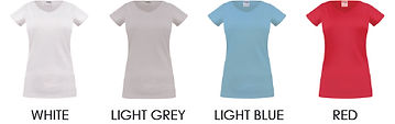 02-01.2 Womens T-Shirt - Colour Chart 1_