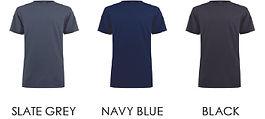 02-03.3 Unisex T-Shirt - Colour Chart 2_