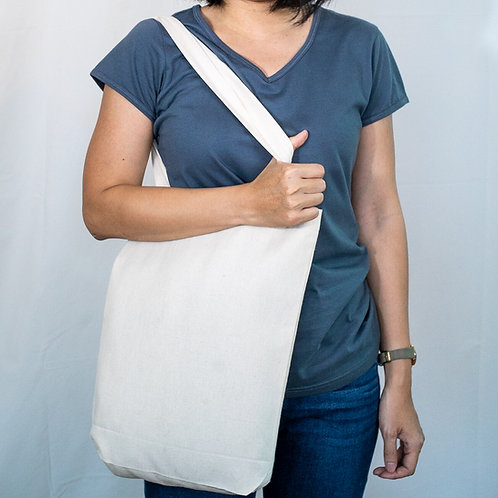100% ORGANIC COTTON TOTE BAG