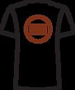 02-03.8 Unisex T-shirt - Logo Placement