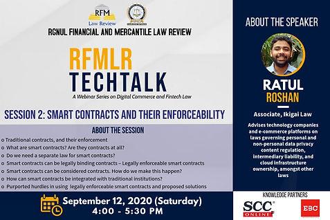 Ratul Roshan - Smart Contracts -RFMLR Te