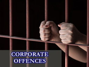 DECRIMINALIZATION OF CORPORATE OFFENCES - THE RIGHT WAY FORWARD?