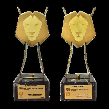Estatuetas - Trofeus - Premios Latino Aw