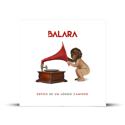 Balara - Capa cd álbum Depois de um longo caminho