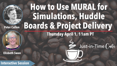 How to Use MURAL for Simulations, Huddle Boards & Project Delivery