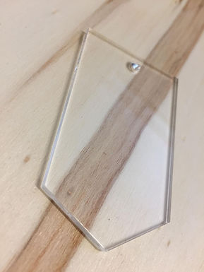 Acryl Rohling - Acrylic Blanks - Tag