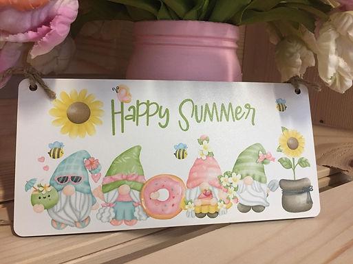 Happy Summer - Zwergenschild