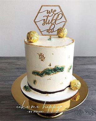 CakeTopper - Tortenstecker We still do - 6 eck