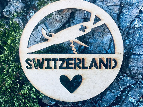 Untersetzer - Schweizer Sackmesser - Switzerland