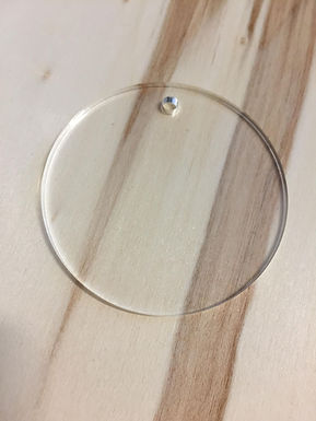 Acryl Rohling - Acrylic Blanks - Kreis