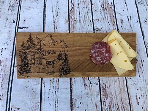 Servier / Schneidebrett - Alphütte