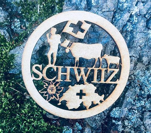 Untersetzer - Alpaufzug - Schwiiz - Switzerland