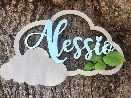 Wolke Personalisiert mit Name