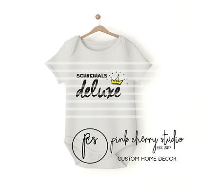 SCHREIHALS DELUXE - KRONE - Baby Body - Plotterdatei