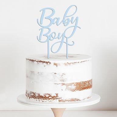 CakeTopper - Tortenstecker Baby Boy