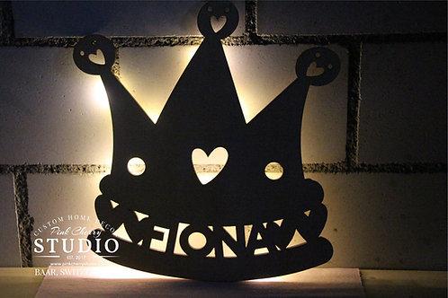 LED Nachtlicht Prinzessin Krone