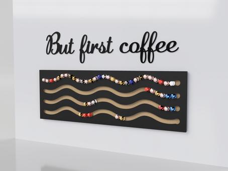 Make your idea become a reality: Nespresso capsule holder