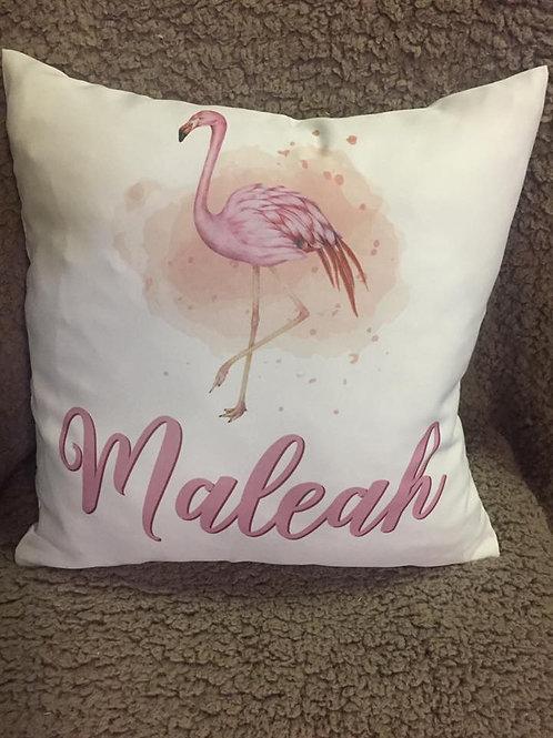 Kissen - Flamingo - Personalisiert