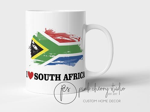 "Tasse ""I love South Africa"""
