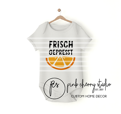 FRISCH GEPRESST - Baby Body - Plotterdatei