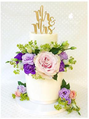 """CakeTopper - Tortenstecker """"Mr & Mrs"""""""