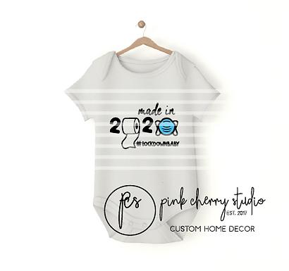 LOCKDOWN BABY - 2020 - MASKE   - Baby Body - Plotterdatei