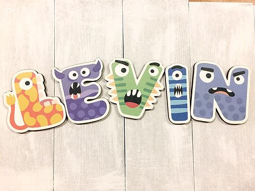 Kinderzimmer Tür Buchstaben