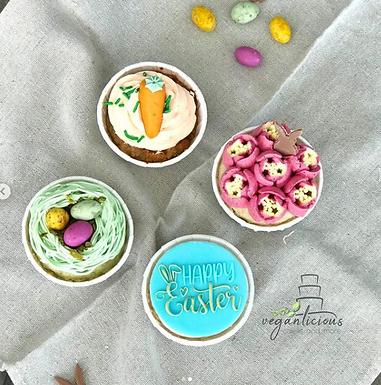 3D Happy Easter Cookie Stamp - Fondant- / Kekstempel