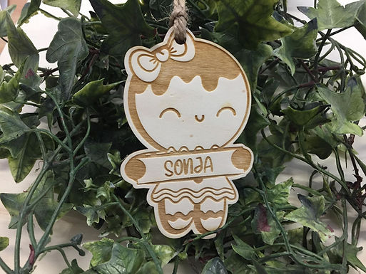 Weihnachtsbaum Deko -Pfefferkuchen Gingerbread 3