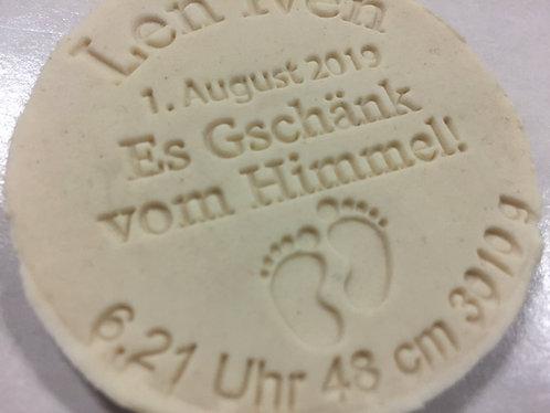 Geburt - Baby  Fondant- / Kekstempel - Cookie Stamp