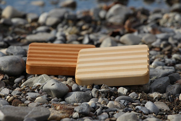 Seifenschale aus Holz - Basic