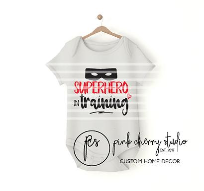 SUPERHERO IN TRAINING - Baby Body - Plotterdatei