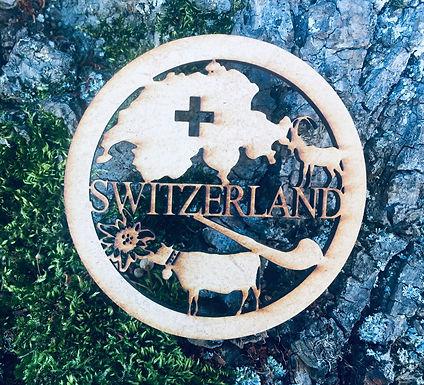 Untersetzer - Alphorn - Switzerland
