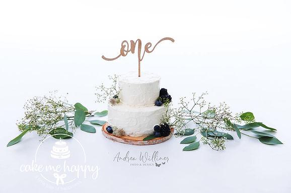 """CakeTopper - Tortenstecker """"Birthday"""" Nummer als Wort"""