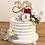 """Thumbnail: CakeTopper - Tortenstecker """"Infinity"""" Mr & Mrs"""