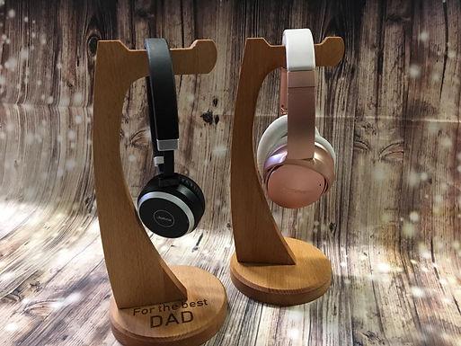 Headset Halter mit Gravur