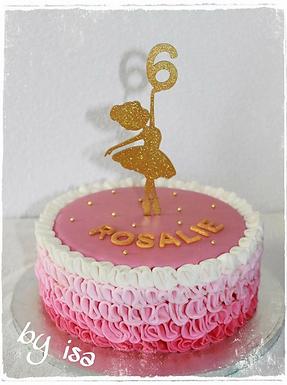CakeTopper -Ballerina