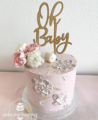 OH BABY –  CAKETOPPER TORTENSTECKER