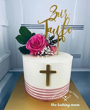 CakeTopper - Tortenstecker Zur Taufe
