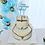 Thumbnail: Prima comunione - Personalisiert - Torten Stecker - Cake Topper