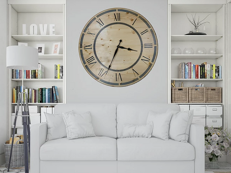 Vintage Horloge/Uhr/Clock
