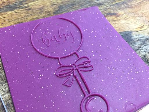 Cookie Stamp - babyrassel - Keksstempel - Baby Shower