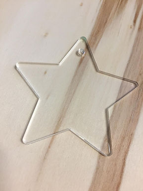 Acryl Rohling - Acrylic Blanks - Stern
