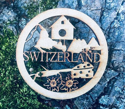 Untersetzer - Matterhorn - Schoggi - Käse - Switzerland
