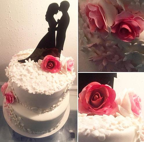 "CakeTopper - Tortenstecker ""Brautpaar"""