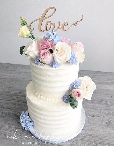LOVE –  CAKETOPPER TORTENSTECKER