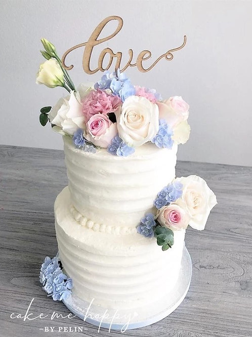 LOVE –  CAKETOPPER TORTENSTECKER