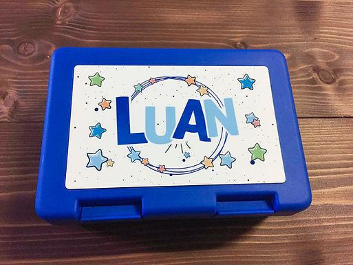 """Lunchbox / Znüniböxli """"Sterne""""  - Personalisiert"""