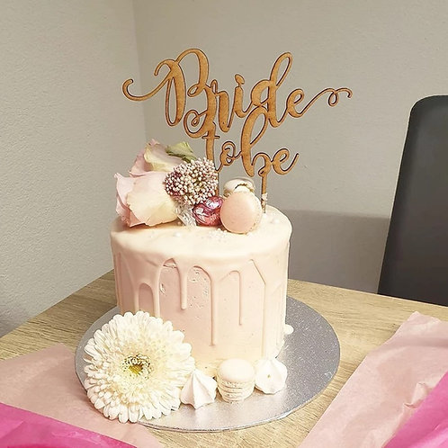BRIDE TO BE CAKETOPPER – TORTENSTECKER