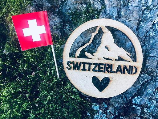 Untersetzer - Matterhorn - Switzerland